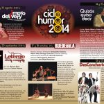 Ciclo Humor 2014